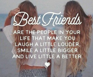 quote, smile, and bestfriends image