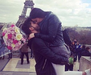 love, paris, and relationship goals image