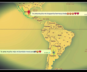 amor, argentina, and distance image