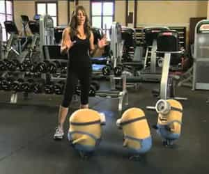 minions and video image