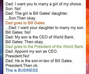 bill gates, funny, and lol image