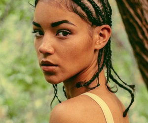black and cornrows image