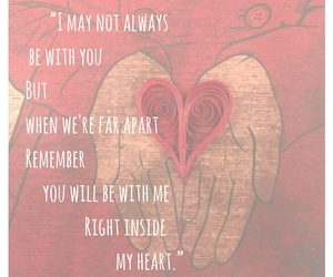 heart in hands, I Love You, and love always image