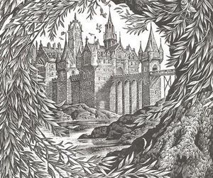 art, harry potter, and illustration image