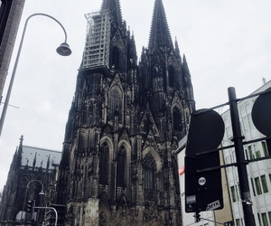 cathedral, dark, and germany image