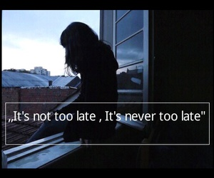music, three days grace, and never too late image