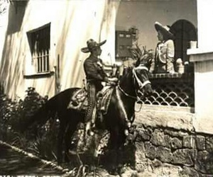 amor, caballo, and charro image