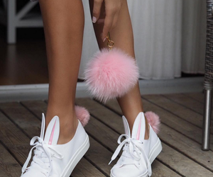rabbit, cute, and shoes image