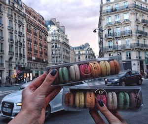 architecture, ‎macarons, and buildings image