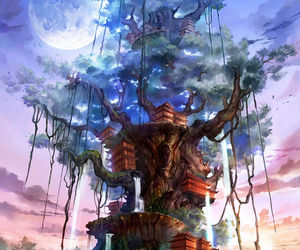 aesthetic, fantasy, and sci fi image