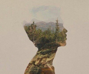 nature, boy, and art image