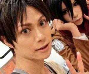 cosplay, shingeki no kyojin, and Otaku image