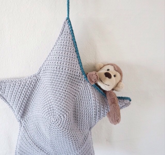 baby, star, and crocheting image