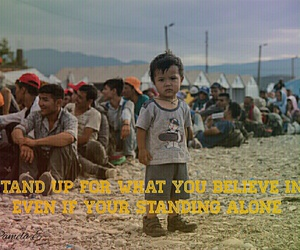 quote, refugee, and inspection image