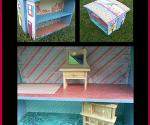 doll house, repurposing, and homemade toys image