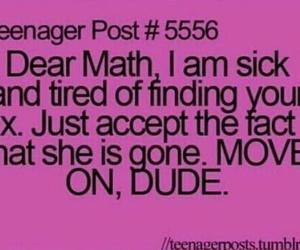 math, funny, and teenager post image