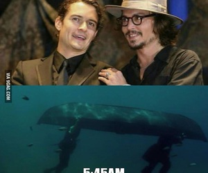 funny, johnny depp, and drunk image