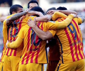 fc barcelona, champions, and Barca image