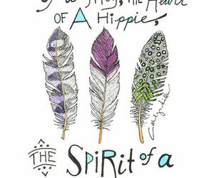 hippie, quotes, and fairy image
