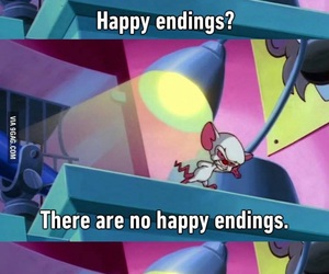 happy endings, funny, and life image