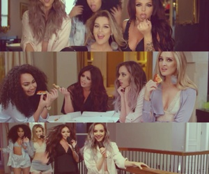 hair, little mix, and jade image
