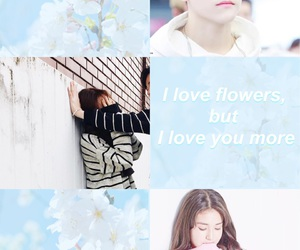 couple, flower, and JYP image