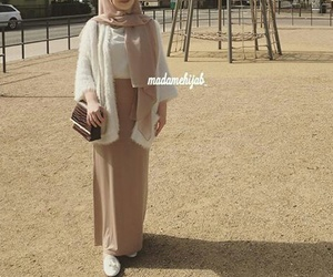 hijab, muslima, and outfit image
