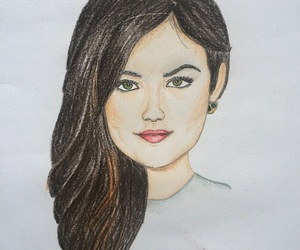 Lucy, hale, and prettylittleliars image