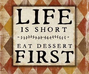 dessert and life image