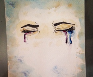 art, color, and cry image