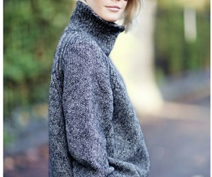 outfit, sweater, and street style image