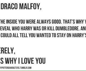 couple, draco malfoy, and feels image