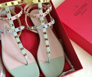 sandals and Valentino image