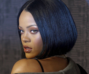 rihanna, makeup, and beautiful image