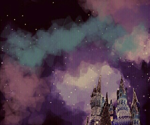 moon, wallpaper, and castle image