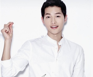 song joong ki, boy, and dots image