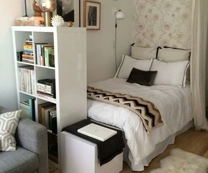bedroom, diy, and white image