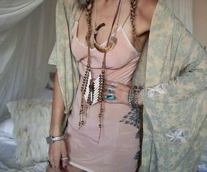 girl, accessories, and boho image