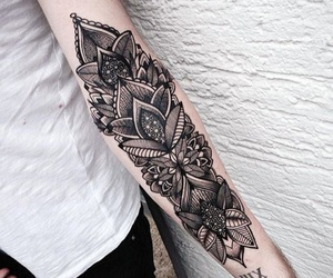 tattoo, art, and arm image