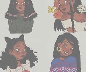melanin, art, and drawing image