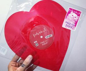 heart, kate nash, and record image