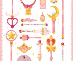 anime, sailor moon, and card captor sakura image