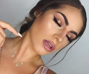 beauty, youtube, and makeup image