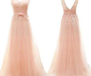 dress, prom dress, and prom gown image