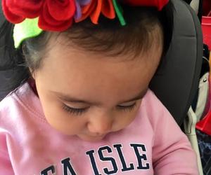 babies, girl, and rosa image