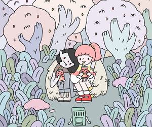 adventure time, marceline, and bmo image