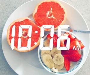 breakfast, food, and happy image