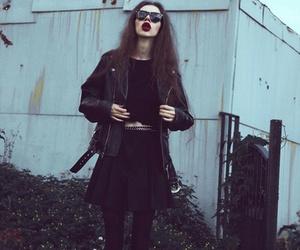 grunge, indie, and black image