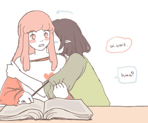 working, marceline, and bubbline image
