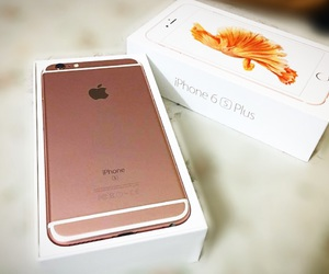 iphone, phone, and rose gold image